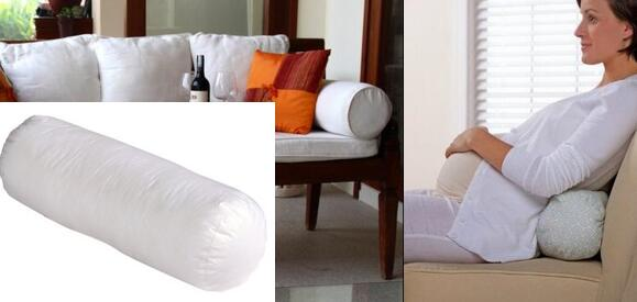 100 Cotton 6 By 16 Neckroll Pillow Pairs