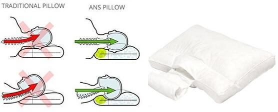Adjust neck Unique Shredded Gel Memory Foam Pillow