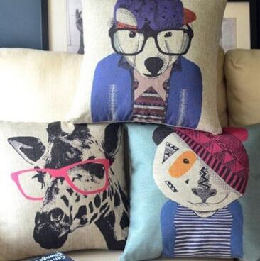 Animal Style Giraffe Pink Glasses