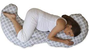 unique shaped maternity pillow