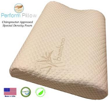 Double Contour Orthopedic Sleeping Pillows for Neck Pain