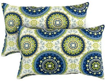 Fashions Rectangle Outdoor Accent Pillows