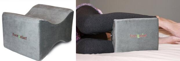Knee Pillow Side Sleeping for Back Hip Pain