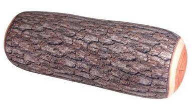 Log Micro Bead Head Bolster Pillow