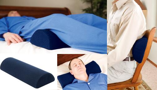 Multi-use Knee pillow for neck back leg pain