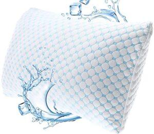 gel infused foam pillow for sleeping