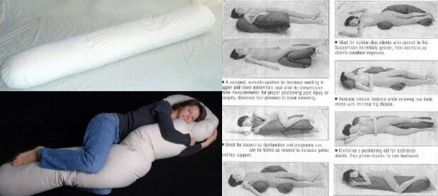 Original Physical Therapy Pregnancy Pillow for any sleep position