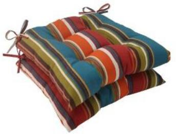 Pillow Perfect Indoor Outdoor Westport Tufted Seat Cushion