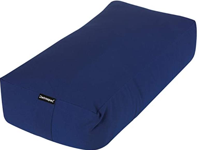 bolster pillow for yoga