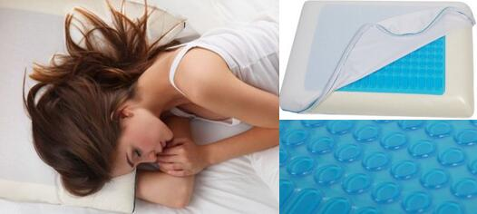 Top Rated Reversible Memory Foam Stay Cool Pillow With Gel
