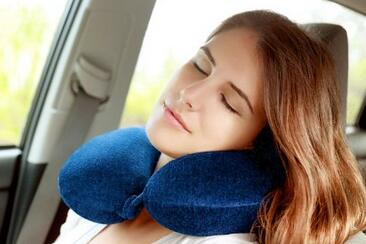 Travel Bliss Memory Foam Neck Pillow