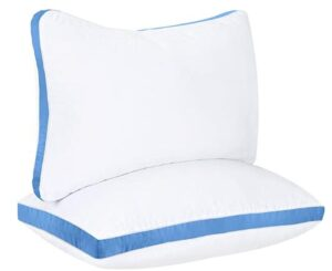 Utopia queen size medium firm pillow for side sleepers