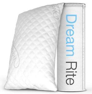 WonderSleep firm pillow with adjustble loft