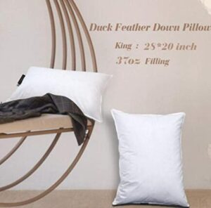 95 down 5 feather pillow