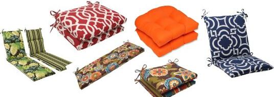 outdoor pillow pad or cushion chairs