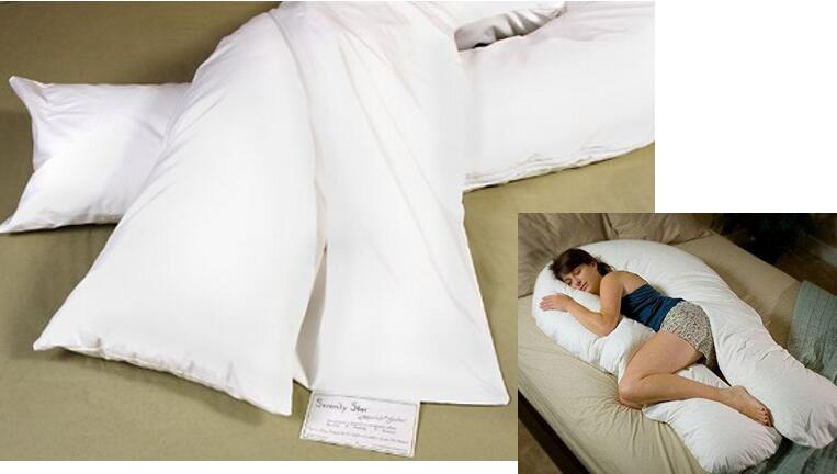 Comfort U Total Body Support Pillow Full Size