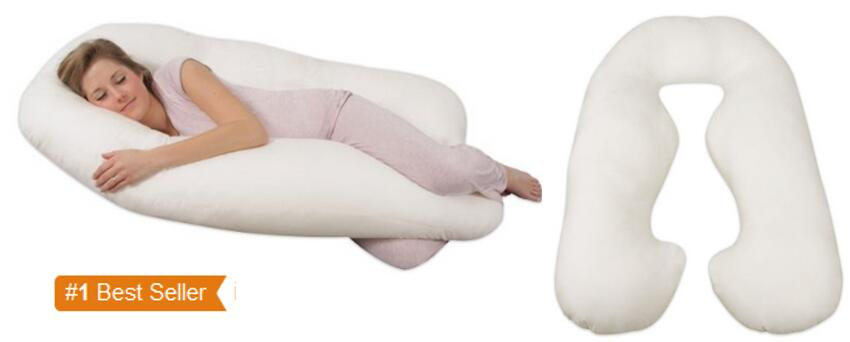 Leachco Back N Belly Contoured Body Pillow