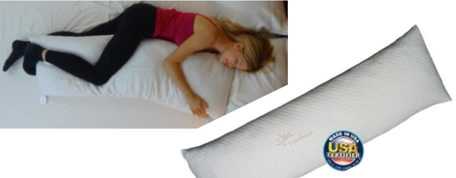 Snuggle-Pedic - Bamboo Shredded Memory Foam Combination With Kool-Flow Cover