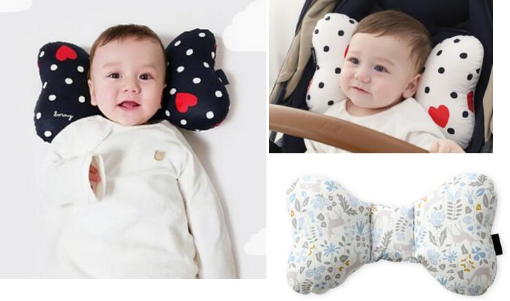 Head & Neck Support Baby Pillow Organic Cotton