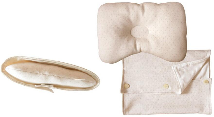 Organic Cotton Baby Protective Sleeping Pillow
