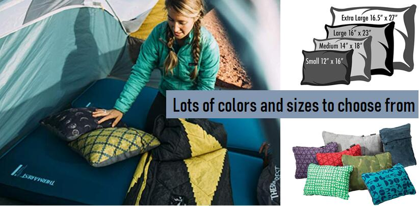 Best Packable Camping Compressible Foam Pillow Reviews