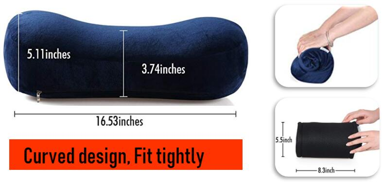 Best Ergonomic Sleeping Backpacking Pillow for Good Night Sleep