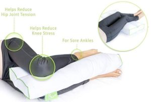 Best rated knee pillow for back and side sleepers