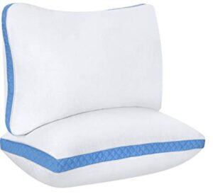 neck support pillow for back and side sleepers