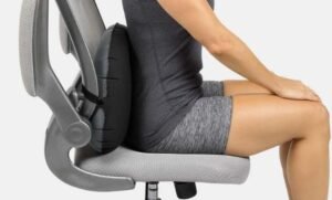 lumbar support pillow and back cusion for office chair