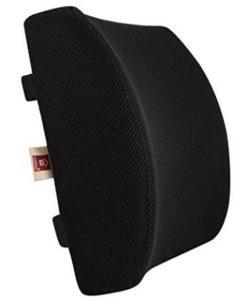 lumbar support cushion for armchair