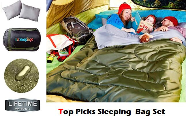 Best Sleeping Bag Set with Pillows Reviews