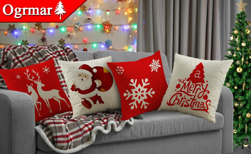Best Reviewed Christmas Throw Pillow Covers