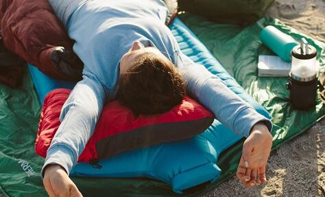 best support camping pillow for side sleeper guide