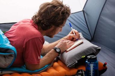 which types of camping pillows guide