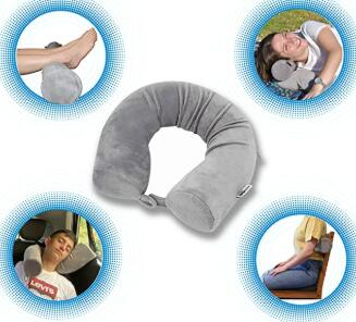 best for travel neck and shoulder pillow review