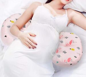 double wedge pregnancy pillow