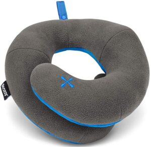 chin support neck pillow for travel