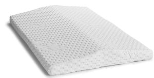 Lumbar support wedge pillow for back pain
