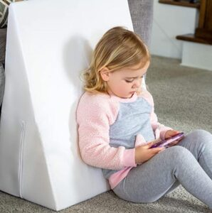 back support wedge pillow for reading