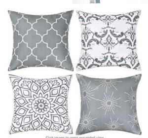 modern decorative pillow case