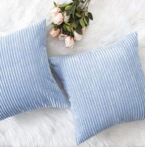 corduroy velvet decorative pillow case