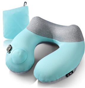 cooling inflatable pillow for backpacking