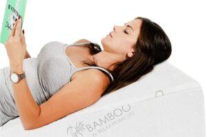 hypoallergenic wedge pillow for sleeping apnea