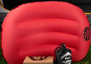 ultralight inflatable pillow for backpacking