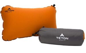 inflatable backpacking pillow for sleeping