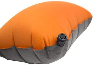 inflatable backpacking pillow for side sleepers