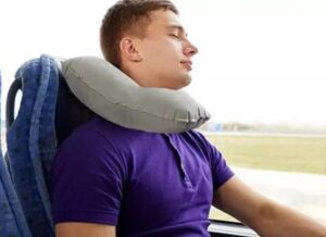 different material of travel pillow