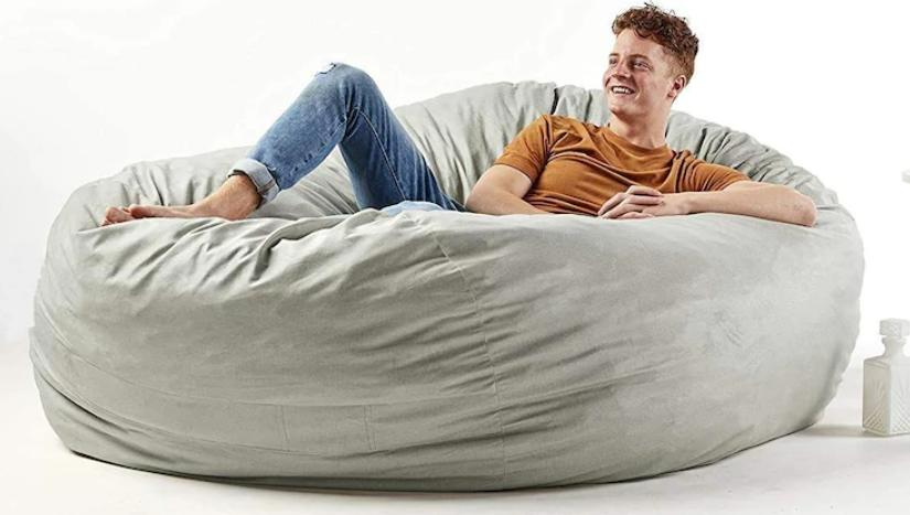 use a bean bag to relieve your pain