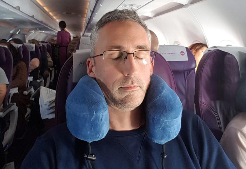 why do you need a travel pillow for long haul flights