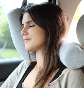 twist travel pillow for neck support